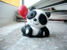 polymer Panda.mini toy