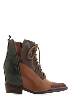Jeffrey Campbell Of the Vogue Variety Wedge. Your favorite accessory    multi  modcloth 6429d822665