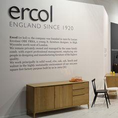 www.ercol.com ercol at Milan 2014 Retro Furniture, Milan, British, Inspiration, Design, Biblical Inspiration, England, Inspirational