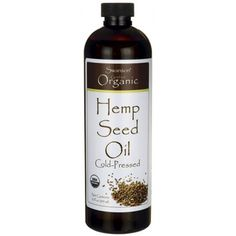 Shop the best Organic Hemp Seed Oil - 12 fl oz products at Swanson Health Products. Trusted since we offer trusted quality and great value on Organic Hemp Seed Oil - 12 fl oz products. Amino Acid Supplements, Nutritional Supplements, Organic Hemp Seeds, Organic Oil, Clean Eating Grocery List, Oil Shop, Fat Burning Drinks, Essential Fatty Acids