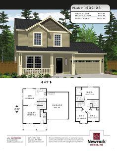 Newrock Homes Plan # 1232-23 | Newrock Homes