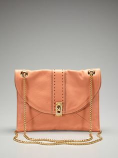 Hello beautiful Be and D bag. Loving this peachy color for this summer :) On GILT today for $299. EEK
