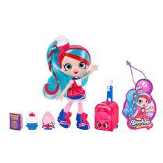 Shopkins Season 8 World Vacation (Europe) Shoppies Doll - Jessicake Shoppies Dolls, Shopkins And Shoppies, Fish Crafts, Craft Stick Crafts, Royal Time, Shopkins Bday, Cookie Swirl C, Shopkins Season, Barbie