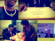 Zaman trip visit to Paspaley in Dubai Mall - 2013 | Grace Yacoub, John Eccles, Dejana Cvetkovic, Chipo Mugomba