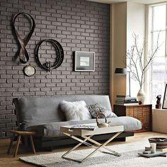 Pintar el salón de un tono oscuro - Decoratrix   Blog de decoración, interiorismo y diseño
