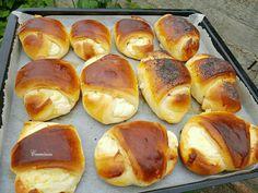 Bread Dough Recipe, Pretzel Bites, No Bake Cake, Nutella, Food And Drink, Gem, Sweets, Baking, Breakfast