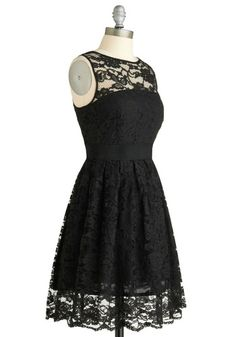 I really need a little black dress and this one might just be unique and classic enough to fit the bill.