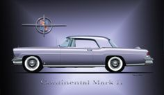 One of my most favorite cars of all time, the beautiful hand built Continental Mark II by Lincoln.