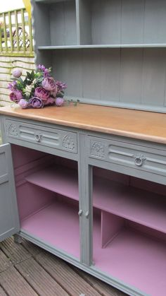 Henrietta inside a Duck Egg dresser NOW SOLD Upcycled Furniture, Painted Furniture, Annie Sloan Furniture, Chalk Paint, Entryway Tables, Dresser, Egg, Home Decor, Style
