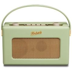 Roberts RD60 Revival DAB/FM RDS Digital Radio with Up to 120 Hours Battery Life - Leaf