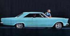 1965 Ford Galaxie: quiter than a Rolls-Royce - http://carswithmuscles.com/1965-ford-galaxie/