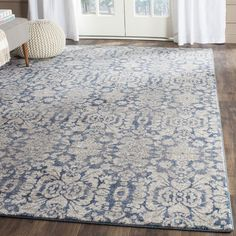 Features:  -Sofia collection.  -Pile cut: Yes.  Primary Color: -Blue/Gray/Ivory.  Product Type: -Area Rug.  Technique: -Power Loom.  Product Care: -Should be vacuumed.  Material Details: -Polypropylen