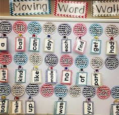 Movable Word Wall - It Works!