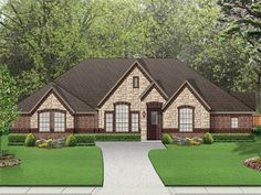 ePlans European House Plan – Exquisite Plan For An Expanding Family – 2715 Square Feet and 4 Bedrooms from ePlans – House Plan Code HWEPL76558