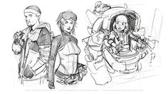 Illustration Sketches, Character Illustration, Drawing Sketches, Sketching, Illustrations, Comic Drawing, Body Drawing, Animation Reference, Art Reference