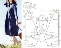 Best 12 boho style for 50 year old do-it-yourself patterns: 11 thousand images found in Yandex – SkillOfKing. Linen Dress Pattern, Simple Dress Pattern, Tunic Sewing Patterns, Sewing Blouses, Baby Dress Patterns, Dress Making Patterns, Clothing Patterns, Fashion Sewing, Boho Fashion