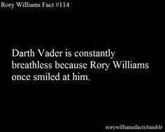 Facts about Rory Williams - possibly my favorite one yet! Rose And The Doctor, Rory Williams, Words To Use, Don't Blink, Dr Who, Superwholock, Tardis, Mad Men, Doctor Who