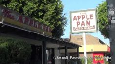 I'd Go Back to The Apple Pan on Pico Blvd in Los Angeles, Ca #Since1947 #BestinLA #Hamburgers