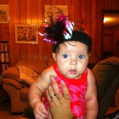 My Audrii in Pink & Zebra Bow  - Pink Couture Boutique by Trish Todd on FB