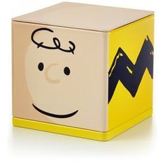 Charlie Brown CUBEEZ Container...have to love Charlie Brown!