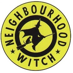 Yes I have a neighborhood witch sticker