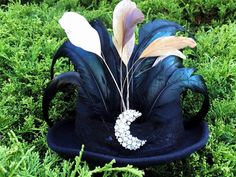Rhiannon Top Hat by GypsyandTheHatter on Etsy