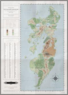 First War Eastern Kingdoms with an Index (Map I) by Kuusinen