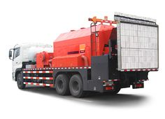 Integrated road maintenance vehicles