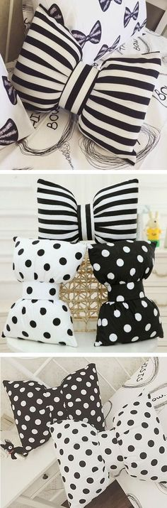 http://www.phomz.com/category/Decorative-Pillows/ bow pillows
