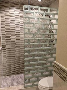 If you are considering glass block for your bathroom remodel give us a call. We are happy to discuss your glass block project with you. Brick Bathroom, Bathroom Windows, Glass Bathroom, Bathroom Flooring, Bathroom Furniture, Glass Blocks Wall, Glass Block Windows, Glass Block Shower, Glass Brick