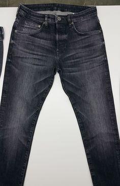 Raw Jeans, Black Denim Jeans, Striped Jeans, Nudie Jeans, Raw Denim, Levis, Denim Ideas, Denim Trends, Suit Fashion