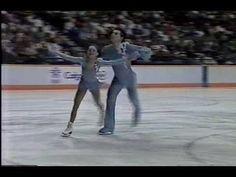 Calgary, Alberta, CANADA - 1988 Winter Games, Pairs' Long Program - Ekaterina Gordeeva and Sergei Grinkov of the Soviet Union skated a near flawless program ...