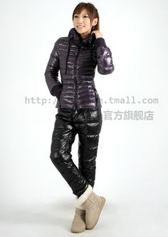 Down Puffer Coat, Down Parka, Down Coat, Nylons, Winter Suit, Puffy Jacket, Snow Suit, Jacket Style, Winter Fashion