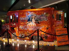 The Ice Cream Truck ..... I actually saw this when it was on exhibit at the Petersen Museum in Los Angeles, TRUST ME when I say the picture does not do it justice