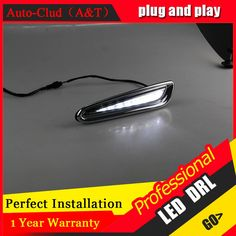 92.72$  Buy now - http://alitta.worldwells.pw/go.php?t=32700282489 - Auto Clud car styling For Mazda 3 LED DRL For 3 High brightness guide LED DRL led fog lamps daytime running light F style