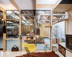 Office space in former textile factory