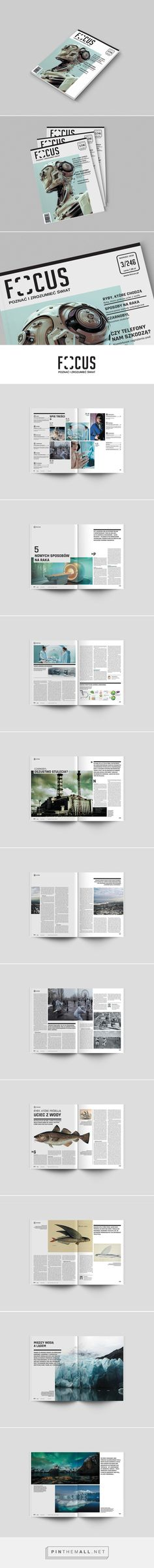Magazine redesign on Behance by Anna Kleszczewska... - a grouped images picture - Pin Them All