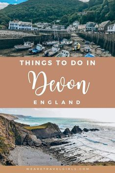 Devon is such a beautiful part of the UK, sometimes overlooked and its beauty underrated. Full of rugged steep cliff sides, golden beaches and towns so picturesque as if plucked straight from a fairy tale. This post includes the top things you simply must experience in Devon. #devon | best things to do in devon uk | best things to do in devon england | devon england english countryside | devon uk travel