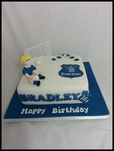 Everton Cake Check out my page on Facebook at Cakes by Helen Campbell