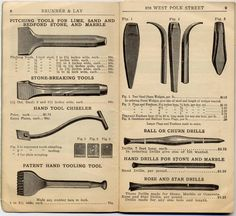 Smith Tools, Rock Wall, Old Building, Tool Steel, Rock Crafts, Sculpture, Stone Work, Blacksmithing, Vintage Images