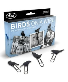 Look at this Birds on a Wire Picture Hanger - Set of Two on #zulily today!