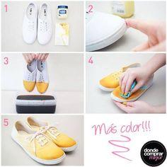 ¡Renovate para celebrar este día de la madre! ¿Qué te parece esta idea para darle color a tus zapatillas?  Completá tu look en www.tiendadcm.com.
