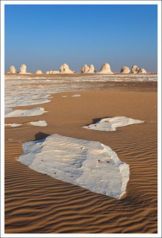White desert,Egypt  ~ Repinned 4 U by Karen of AZdesertTrips.com