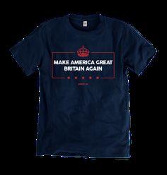 Make America T-shirt   Elizabeth Windsor - The Official Clothing Store