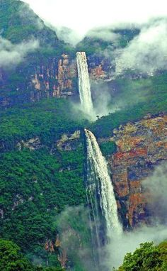 Gocta waterfall - Chachapoyas, Perú  ...Gorgeous. I must go to South America.