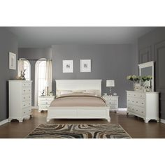 White Distressed Bedroom Furniture Dream Spaces