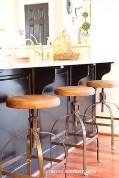 Industrial stools @Travis Holding...............love these
