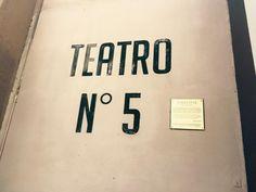 Theater 5 in Cinecitta.