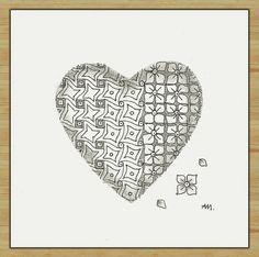 Ein Herz für Euch weil im Februar Valentinstag ist!  Heilzeichnen