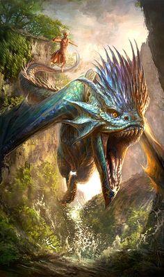 "translucentmind: ""Dragons of Wild // Joemel Requeza"""